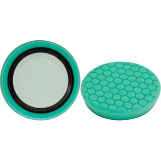 GREEN POLISH FOAM PAD HEX CUT