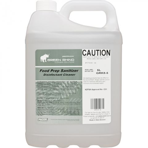 GREEN RHINO® FOOD PREP SANITIZER