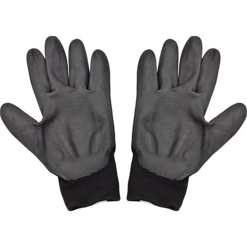 NITRILE COATED COTTON GLOVES
