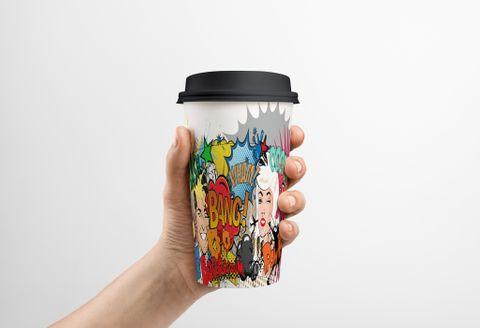 12OZ WHAM CUPS  S/W