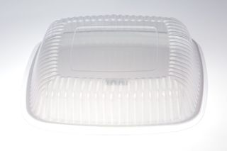 12 IN SQ LIDS DOME FOR SQUARE PLATTER EACH