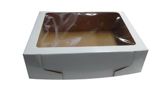 CATERING BOX WHITE 405X295X80MM