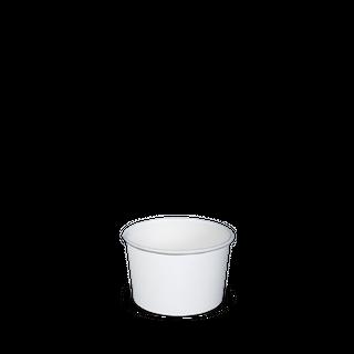 3OZ PAPER ICE CREAM BOWL WHITE SLV