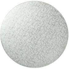12' (305MM) MILK BOARD ROUND WHITE