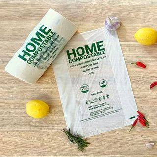 GUSSET ROLL BAGS HOME COMPOSTABLE