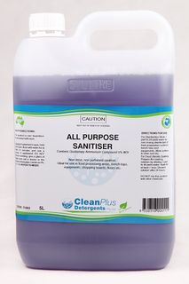 ALL PURPOSE SANITISER 5LTR 71802