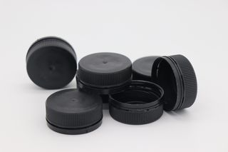 PET LID BLACK FIT 300 & 500 (100)