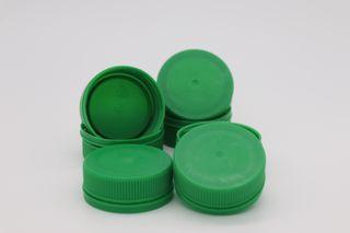 PET LID GREEN FIT 300 & 500 (100)