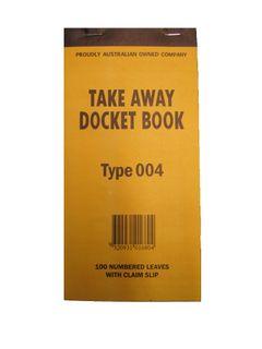 DOCKET BOOK 004 - 100 SINGLE SH CLAIM SL