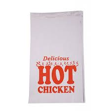 LARGE CHICKEN BAG (delicious print)