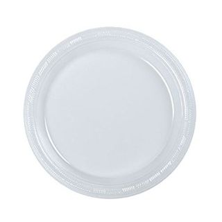 180MM 7''  ROUND SNACK PLATE