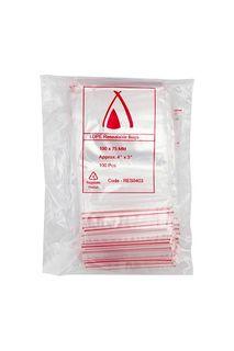 4 X 3  (100 X 75 MM ) RESEALABLE BAG