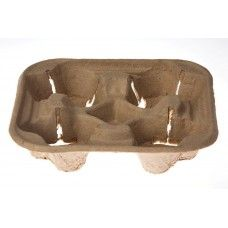 4 CUP PULP CARRY TRAY (SLV)