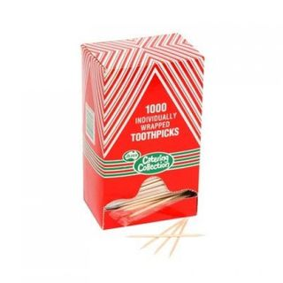 INDIVDUALLY WRAPPED TOOTH PICKS