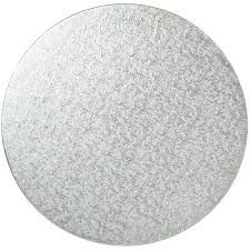 90MM SILVER ROUND BOARD WITH TAB