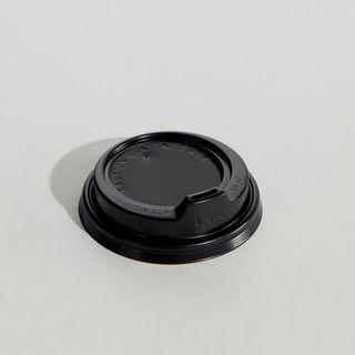 LID 8oz BLACK SIPPER 8SLPB