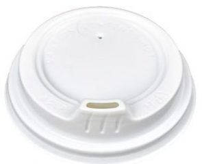 LID 12OZ WHITE SIPPER 12SLPB