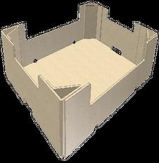 Tray Style - Corner Post