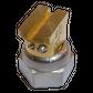 H200 nozzle; 90°; 2 exits; Ø0.40 mm; 15°