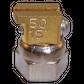 H200 nozzle; 90°; 2 exits; Ø0.50 mm; 15°