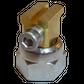 H200 nozzle; 90°; 2 exits; Ø0.60mm; 15°