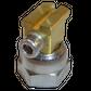 H200 nozzle; 90°; 2 exits; Ø0.50 mm; 22°