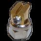 H200 nozzle; 90°; 2 exits; Ø0.50 mm; 30°