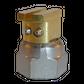 H200 nozzle; 90°; 2 exits; Ø0.50mm; 45°
