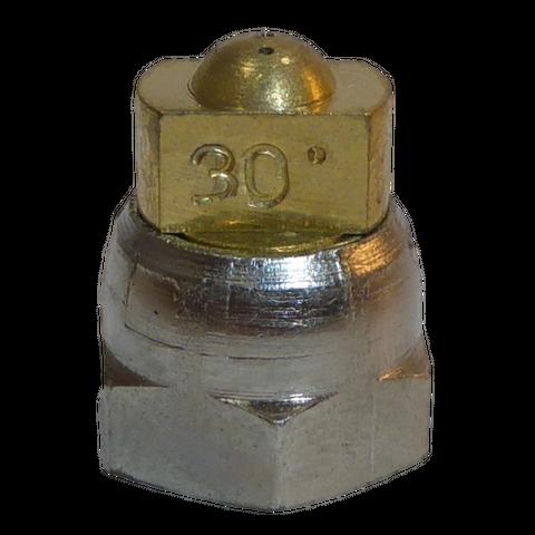 H200 nozzle; spherical; 3 exits; 30°; Ø0.50mm