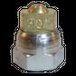 H200 nozzle; spherical; 3 exits; 30°; Ø0.60mm