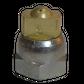 H200 nozzle; spherical; 3 exits; 60°; Ø0.50mm