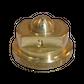 H20 button nozzle; 4 exits; 35/76°; Ø 0.30mm