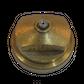H20 button nozzle w/insert; ext length 1.27mm; Ø 0.45mm
