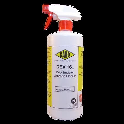 Gard DEV 16 PVA & Emulsion Cleaner; 1L