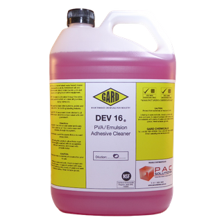 Gard DEV 16 PVA & Emulsion Cleaner; 5L