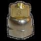 H200 nozzle; spherical; 3 exits; 15°; Ø0.50mm