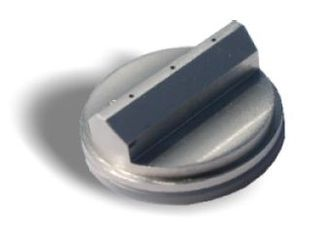 Nozzle; 540EC series; non-contact; 3-vein; 0.5mm; 0.250 spacing