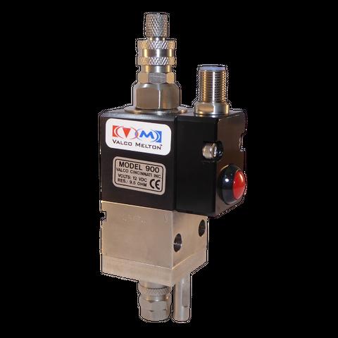 900 series  solenoid-operated glue valve; contact; viton seals