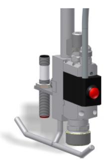 540ECR valve assy, EPDM seals
