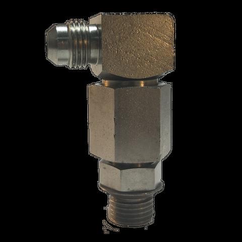 Inline filter assembly, 90º, 50 MESH
