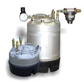 Glue pressure tank; 5 gallon; 0-125 psi