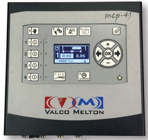 MCP-4J Control - 4 channels gluing with EPC, Jam prevention