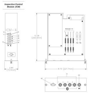 Module Assy; ICM4T, M12, VCX
