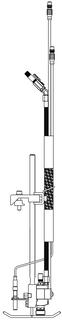 540ECR valve/bracket/scanner/hack assembly 3M
