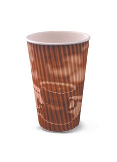 16OZ RIPPLE CUP BROWN CLASSIC(R292S0020)