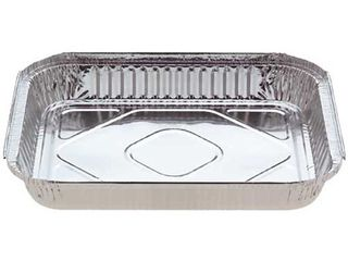 7131 LGE SHALLOW OBLONG FOIL TRAY