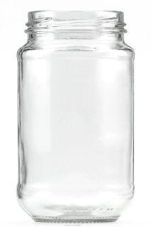 375ML TWST CLR GLASS JAR 63MM (JA375JPC)