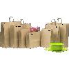BABY BROWN TWIST HANDLE BAGS (BKPT265)