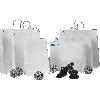 #16 SMALL WHITE BUDGET BAG (C493S0004)
