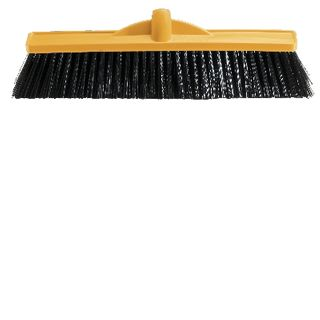 BROOM 450MM POLY MED STIFF
